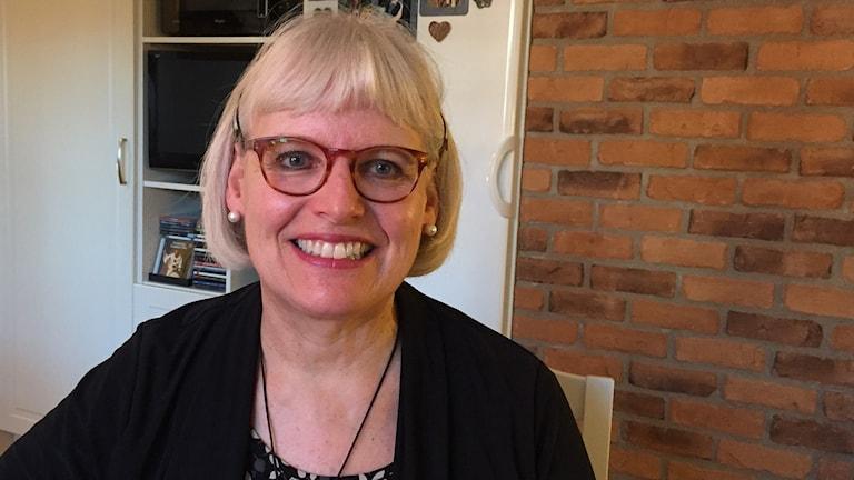Lorene Salomonsson i sitt kök.