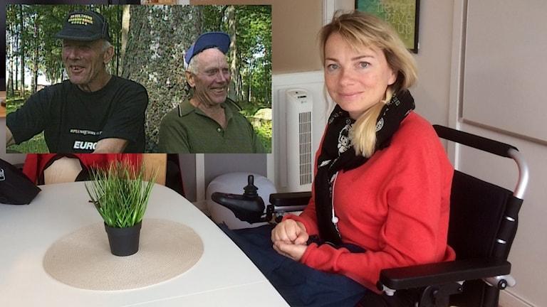 Pia Hammargren, ordförande i Funkibator, är glad över pengarna från Erik och Sigvards fond.