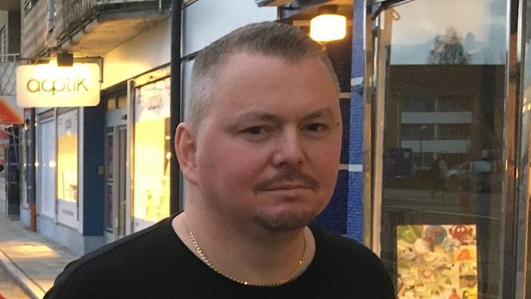 Jonas Pettersson, bargare i Älmhult