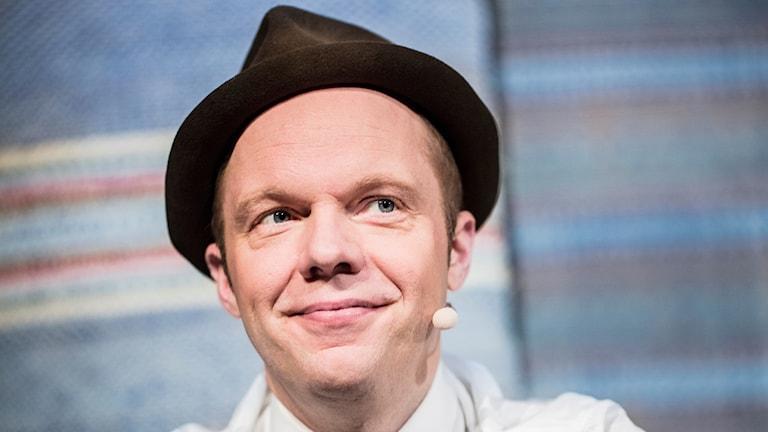 Komikern Olof Wretling.