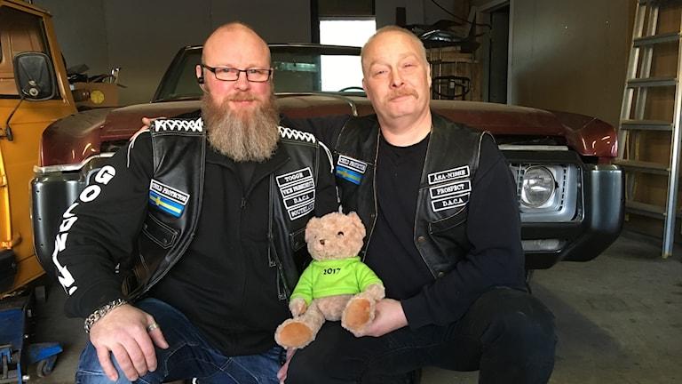 Dacas medlemmar Anders Magnusson och Torgny Nilsson
