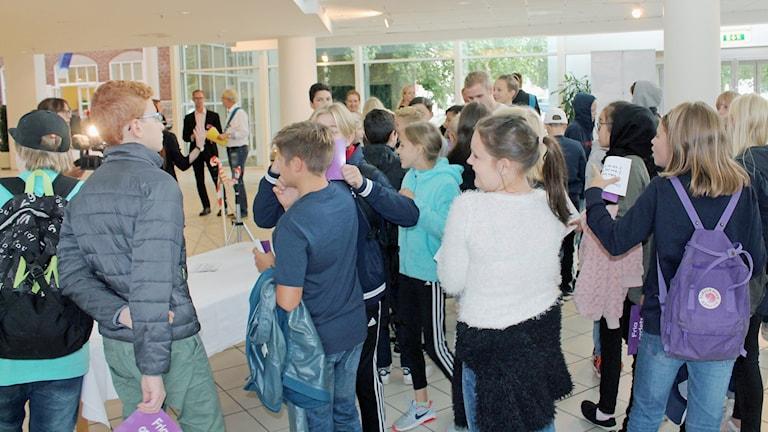 Ungdomar i Konserthuset