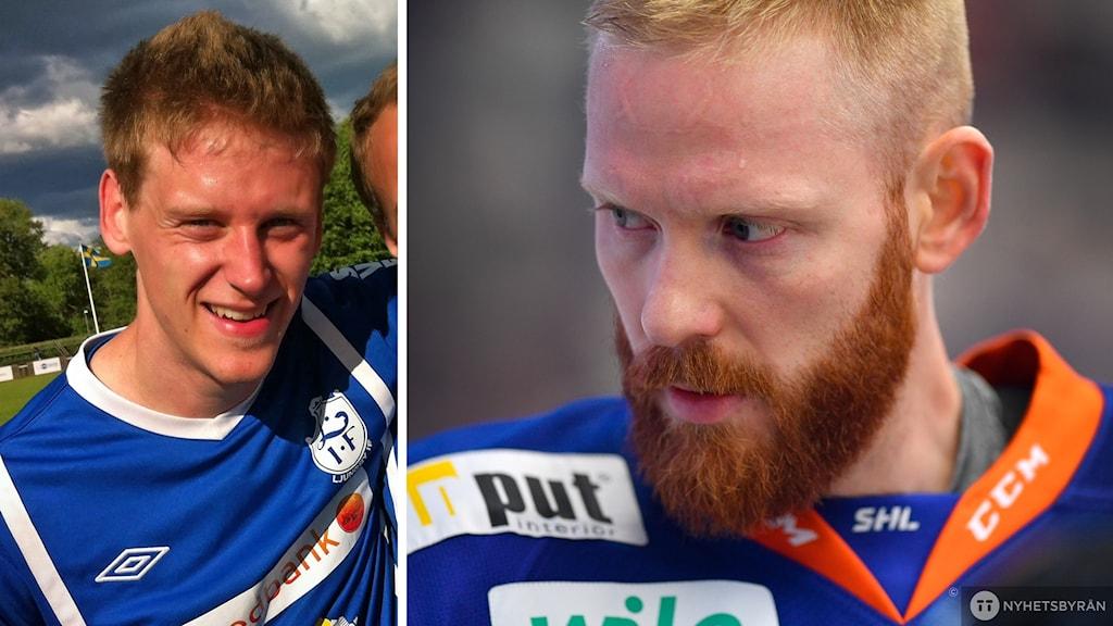 Till vänster Andreas Waldo, till höger Liam Reddox.