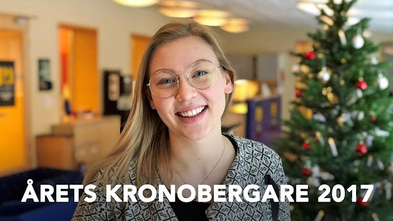 Elin Cederbrant är Årets Kronobergare 2017