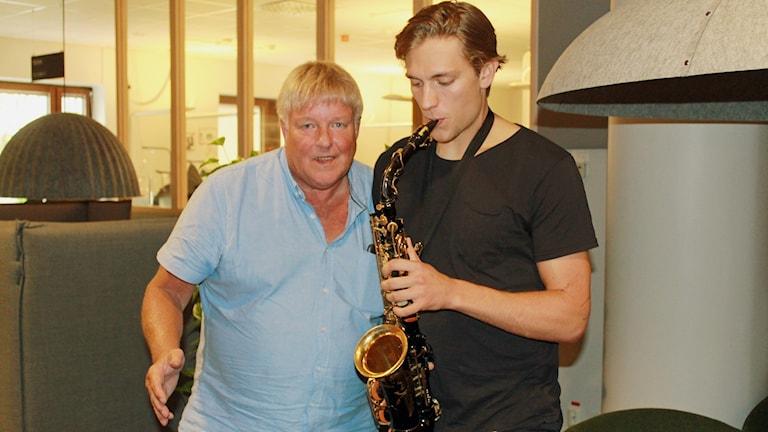 Thorleif Torstensson och Eric Martinsson