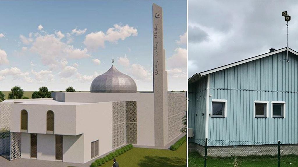 Den nya moskén och den gamla