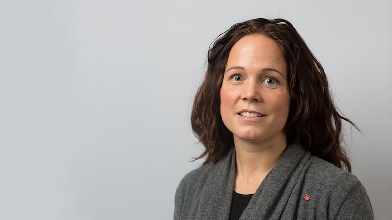 Moa Brydsten, socialdemokrat Umeå kommun. Foto: Fredrik Larsson.