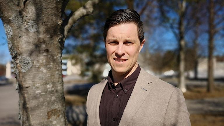 Jonas Nordin, regionchef för Företagarna i Västerbotten och Norrbotten.