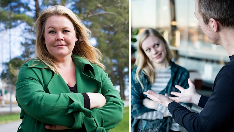 """Som tonåringen kunde jag säga """"jag tro som att jag är kär i han"""", när jag inte vågade vara kär rakt av, säger Erica Dahlgren om ordet hon hoppas ska bevaras."""