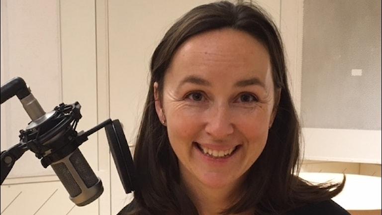 Forskaren Anna Oudin vid Institutionen för folkhälsa och klinisk medicin vid Umeå universitet Foto Pia Diaz Bergner Sveriges Radio