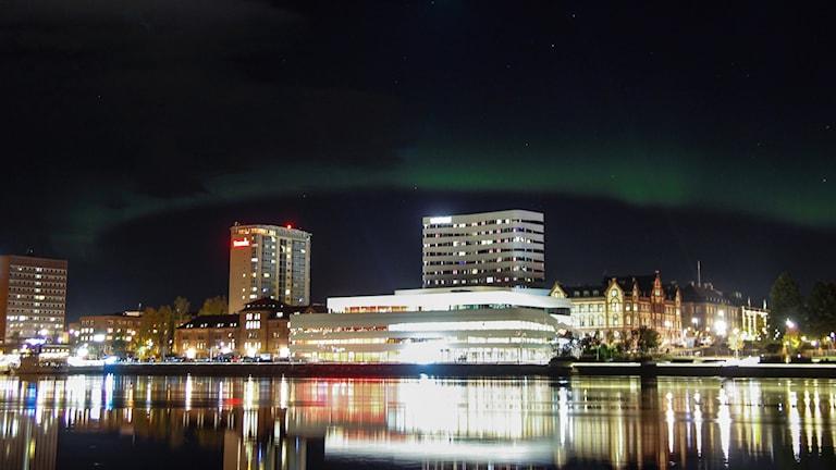 Umeå sett från Teg