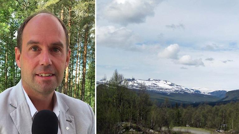 Rickard Carstedt (S), regionråd i Västerbotten.