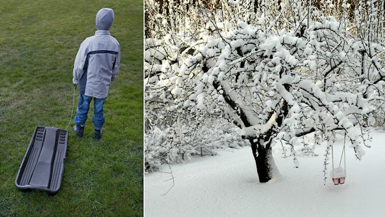 Grön eller vit jul är en vanligt återkommande fråga i stugorna.
