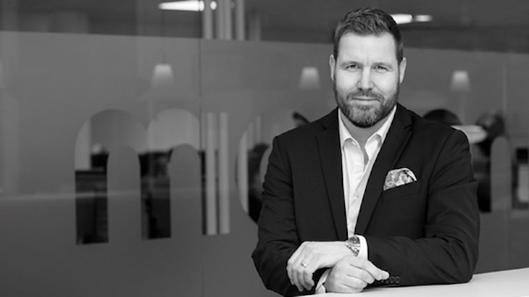 Henrik Olsson, landschef för Transcom i Sverige