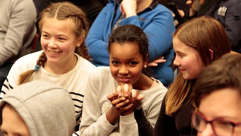 Vi i femman semifinal 1 Minervaskolan 5A mot Östermalmsskolan 5B