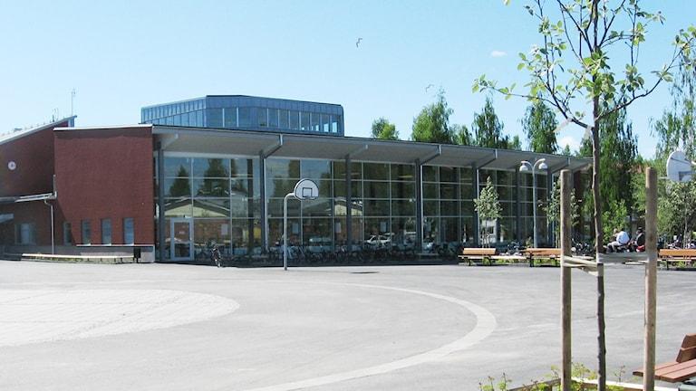 Ålidhemsskolan Umeå. Foto Helena Forsgren/SR Västerbotten.