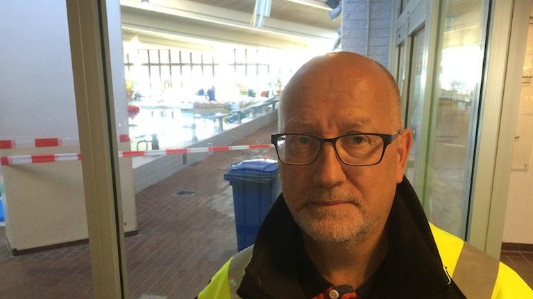 Dan Vähä, fastighetschef i Umeå kommun.
