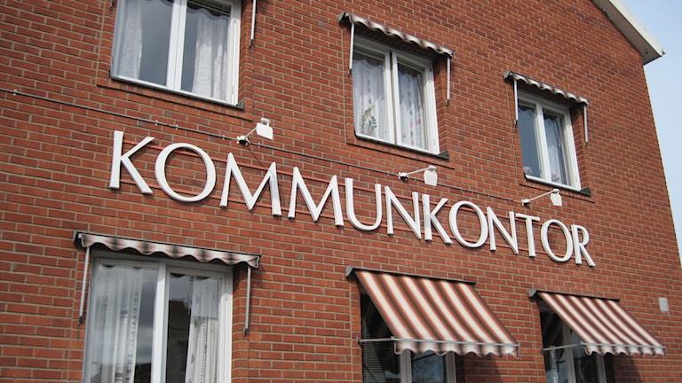 Kommunhuset i Vindeln. Foto: Åza Meijer/SR.