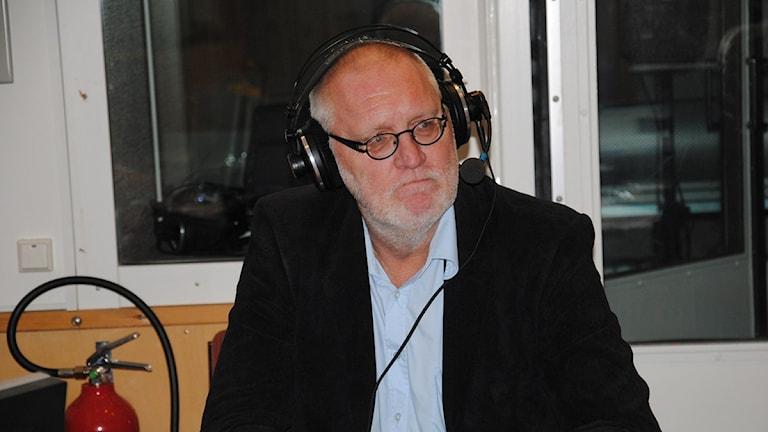 Lennart Gustavsson, Vänsterpartist från Malå. Foto: Pia Diaz Bergner/ SR.