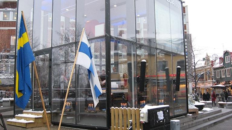 Finlands självständighetsdag firades i vita kuben