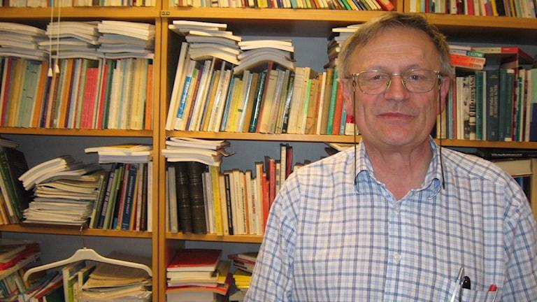Urban Janlert, vetenskaplig handledare för projektet Kultur på recept. FOTO Viktor Hariz/SR