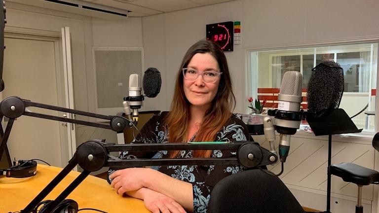 Sara Strandberg disputerade  digitalt, först ut av alla på Umeå Universitet.