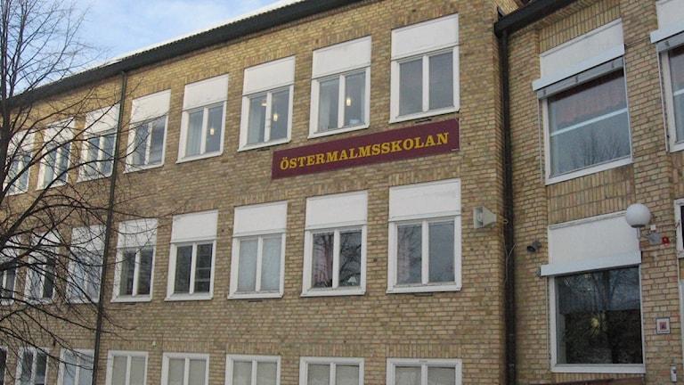 Östermalmsskolan i Umeå, Foto: Tommy Engman/SR.