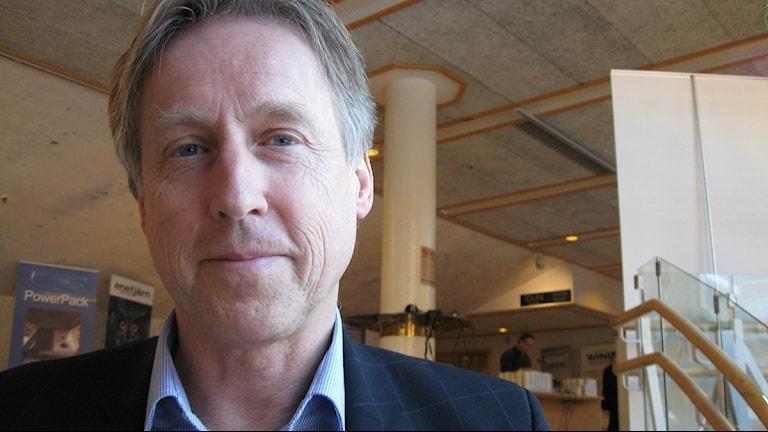 Göran Ernstsson, VD för Umeå Energi. Foto Anna Burén/SR.