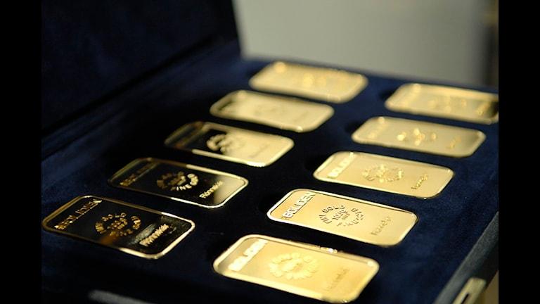 Boliden startar en guldgruva. Foto: SVT Bild