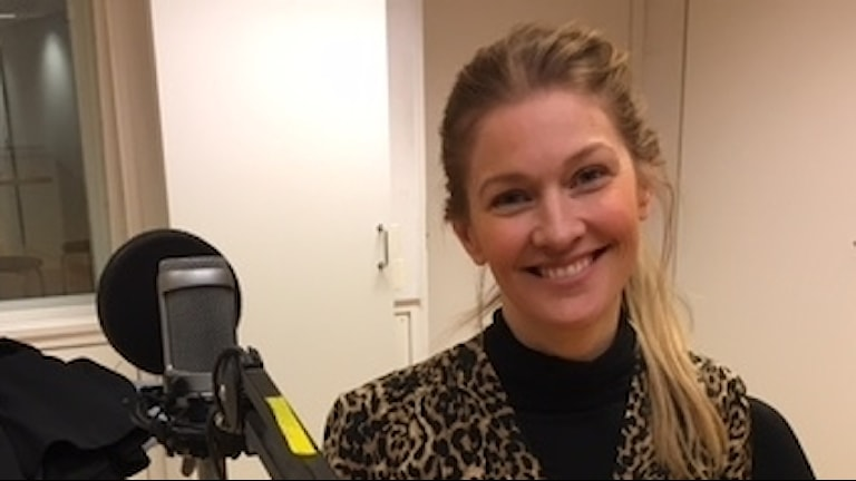 Stylist Pia Johansson i Förmiddagsstudion.