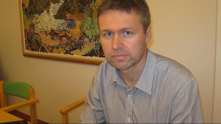 Stephan Stenmark smittskyddsläkare i Västerbotten.