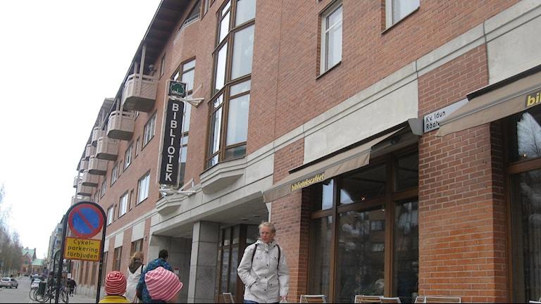 Stadsbiblioteket i Umeå. Foto Ulrika Holmberg/SR.