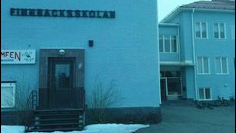 Finnbacksskolan i Lycksele. Foto: Tommy Karlsson Ravström/SR.