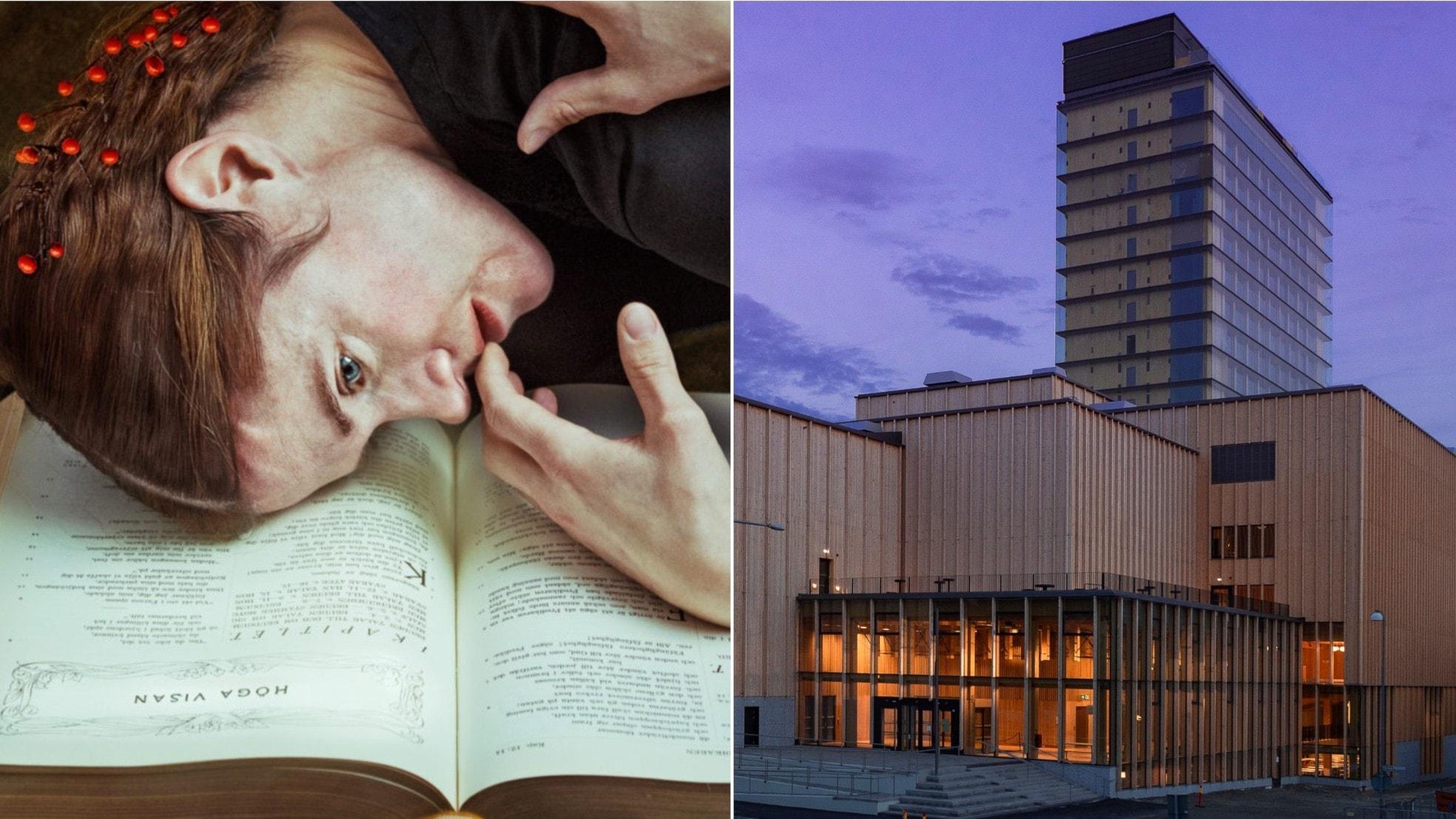 Nu öppnar nya kulturhuset Sara i Skellefteå