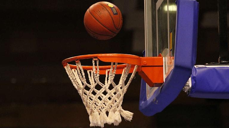 Basket. Arkivfoto: SVT Bild.