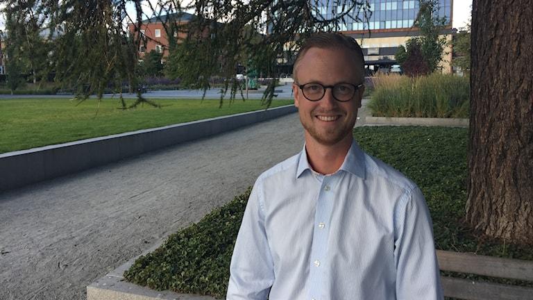 Andreas Löwenhöök Moderat oppositionsråd i Skellefteå