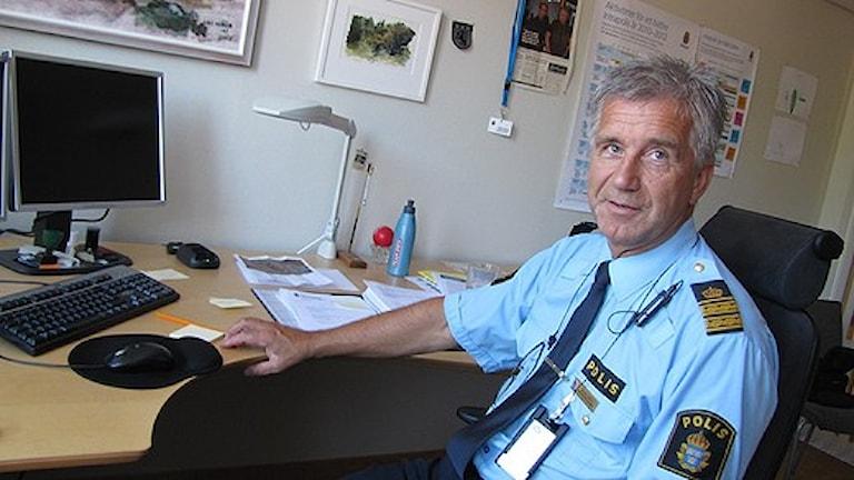 Börje Öhman hoppas att lagändringen ska leda till att fler brott kan klaras upp. Foto: Jonas Hägglund, SR Västernorrland.