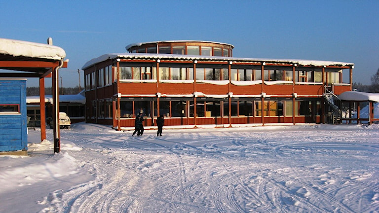 Renforsskolan i Vindeln. Foto: Helena Forsgren/Sveriges Radio