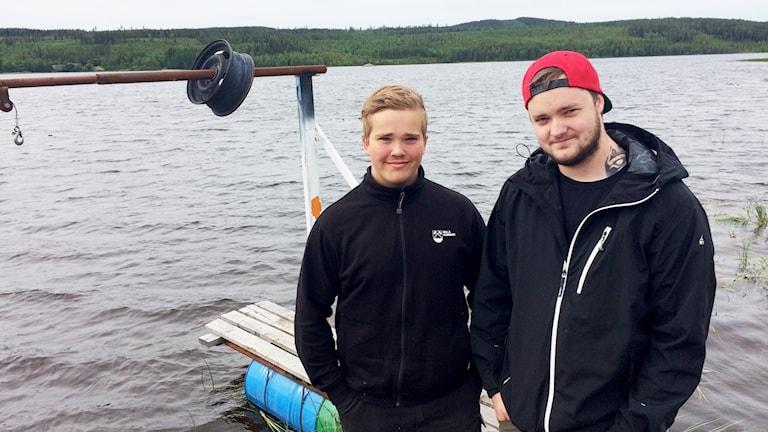 Alexander Harr och Anders Persson