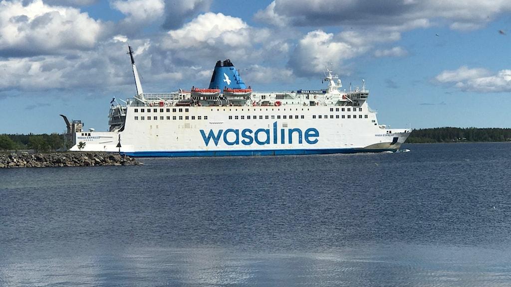 Wasalines färja mellan Umeå och Vasa