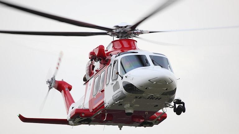 Sjöfartsverkets helikopter modell Leonardo AW139