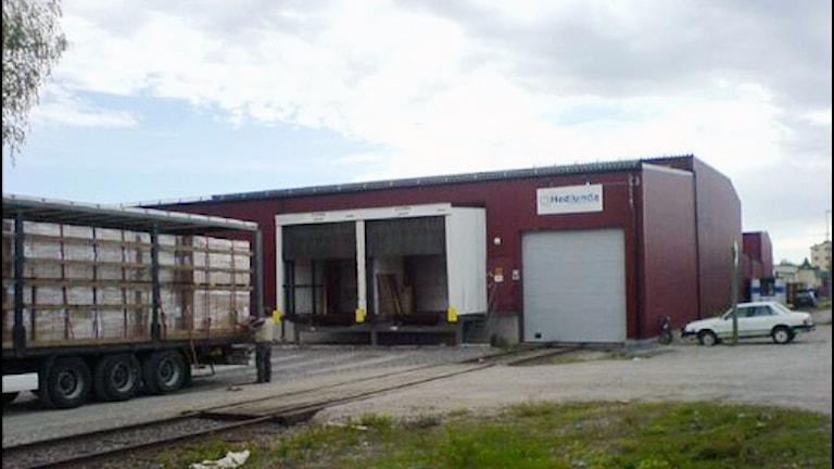 Hedlunda Industri i Lycksele, Foto: Örjan Holmberg/SR.