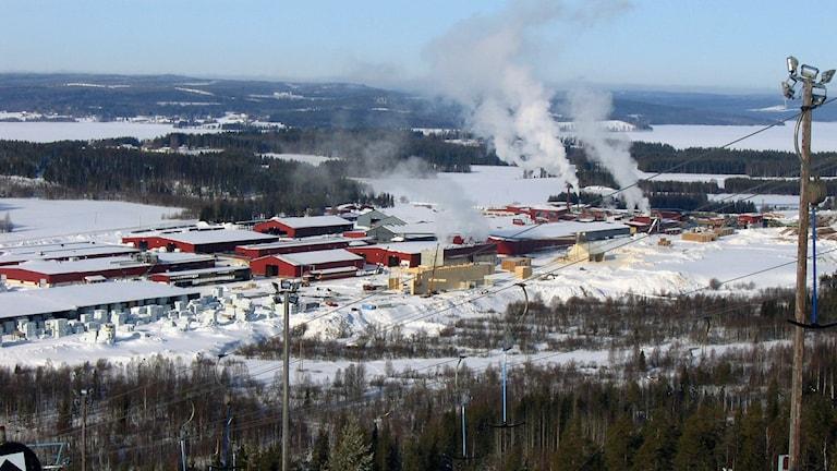 Martinsons sågverk i Bygdsiljum, Foto: SR