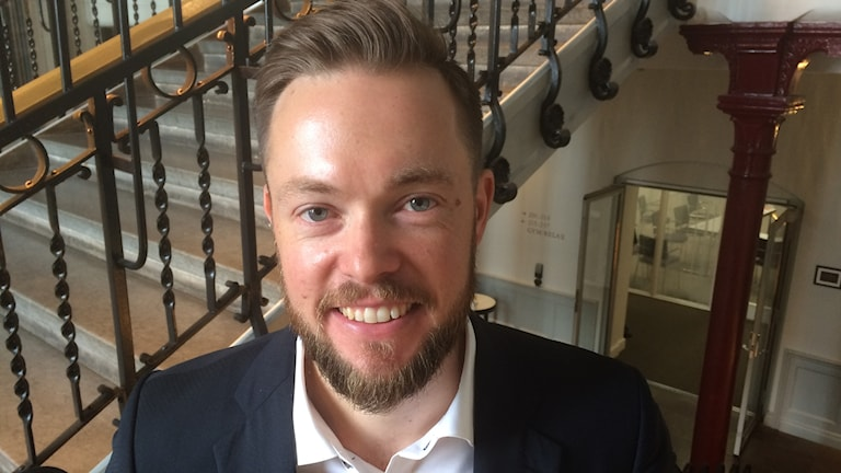 Joakim Berg, projektledare i samarbetete Botniska korridoren.