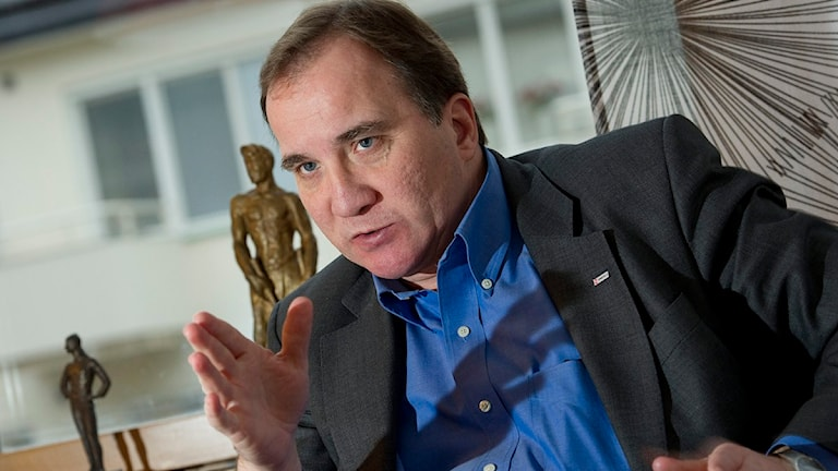 Stefan Löfven, partiledare för Socialdemokraterna. Foto: Jonas Ekströmer/Scanpix.