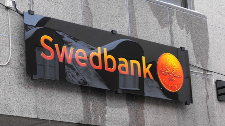 Swedbank skylt