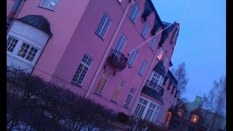 Scharinska villan i Umeå. Foto Lillemor Strömberg/SR.