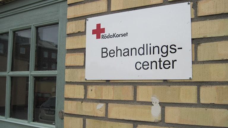 Röda Korset i Skellefteå. Foto Magnus Bergner/SR.