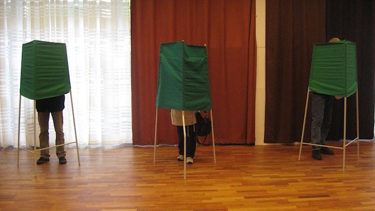 Vallokal i Umeå