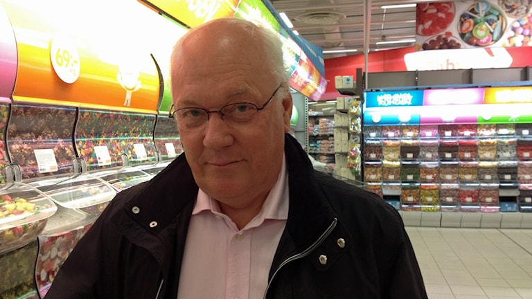 Kjell Edlundh, informationschef Coop Nord. Foto: Mikaela Pallin/SR.